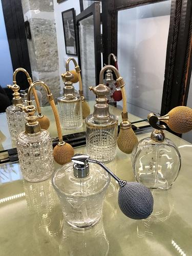 Vaporisateurs à parfums en cristal Baccarat