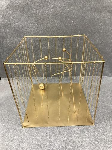 Sculpture dorée de Fausto Melotti