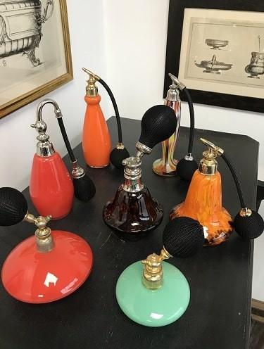 Vaporisateurs à parfums des années 1925