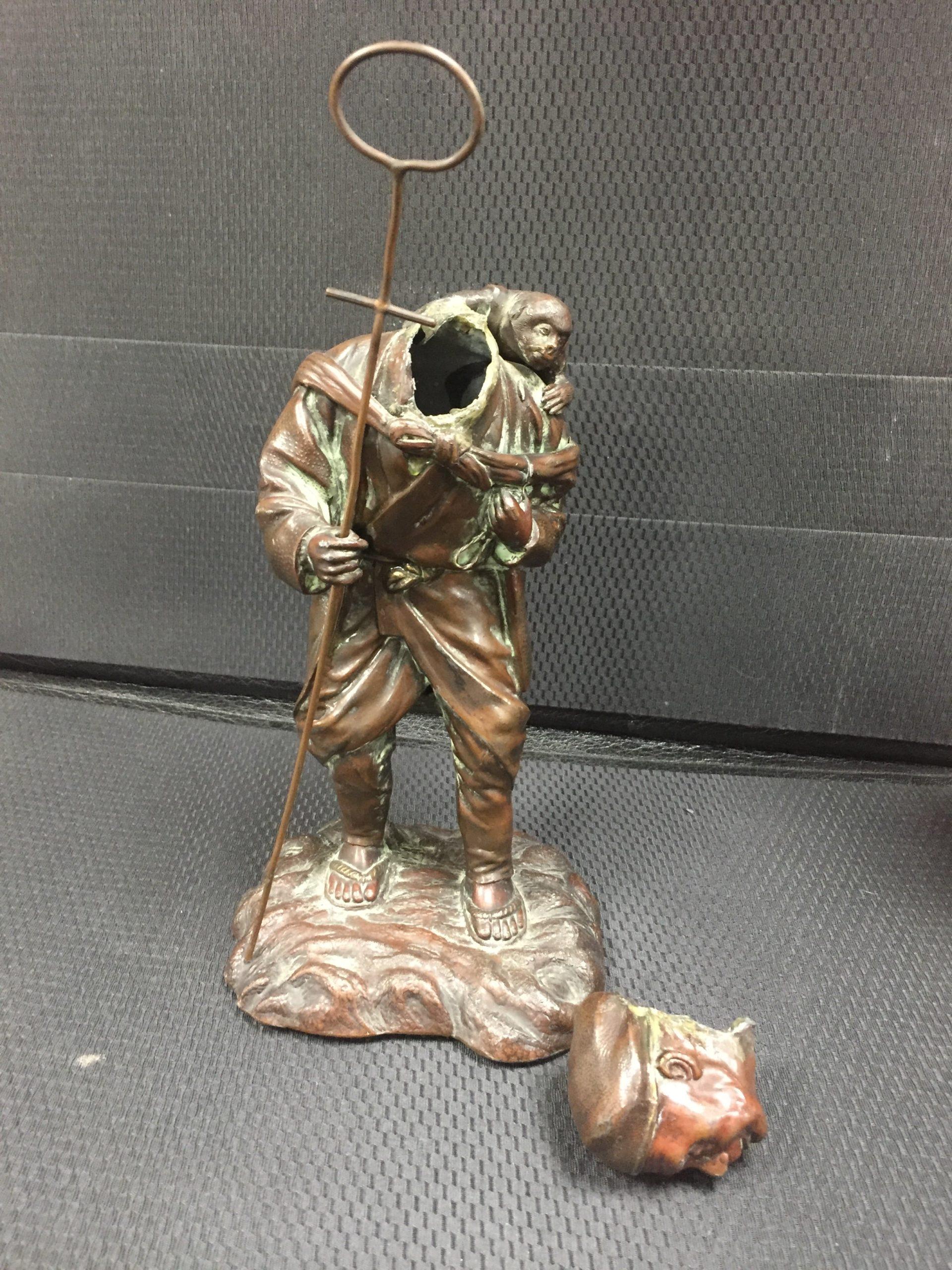 Statuette régule à souder